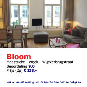 Bed and breakfast bloom Maastricht