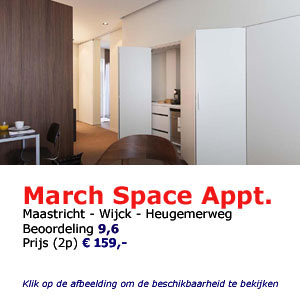 bed and breakfast maastricht march space