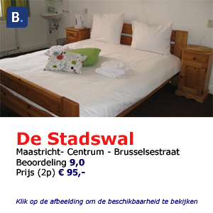 Bed and breakfast de Stadswal Maastricht